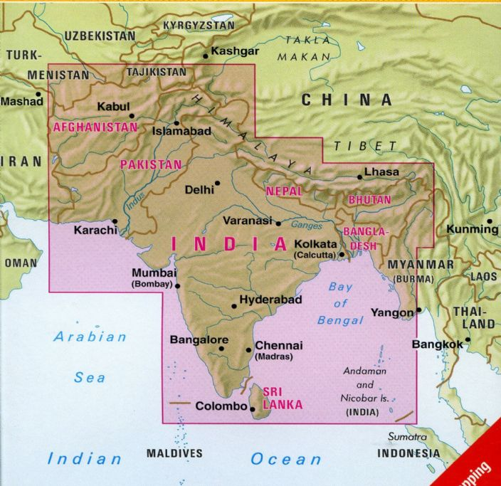 Indian subcontinent nelles maps at 14500000 gumiabroncs Gallery